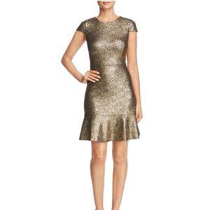 6b7a39bcf08 MICHAEL Michael Kors Dresses - NWT Michael Kors Supernova Foil Knit Flounce  Dress